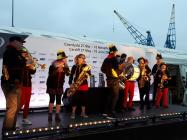 Wonderbrass welcoming in the Volvo Ocean Race