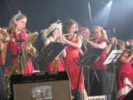 Wonderbrass at Brecon Jazz, 2008