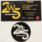 Album artwork, Wonderbrass WB25
