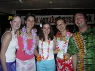Riverbank gig Hawaiian night!