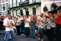 Wonderbrass at Brecon Jazz