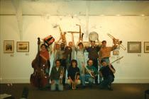 Wonderbrass ai MuniArtsCentree,Arts centre, 1995