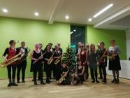 Wonderbrass gig at St Fagans Museum Cardiff,...
