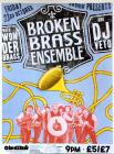 Event poster for Wonderbrass supporting the...