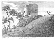 Penllyn castle, near Cowbridge ca 1786