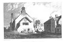 Llantwit Major Town Hall, early 1800s