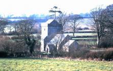 Llantrithyd church, near Bonvilston