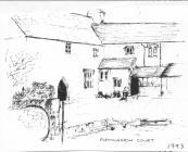 Flemingston Court, nr Cowbridge - 1993 sketch