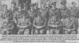 614 Squadron, Llandow airfield, nr Cowbridge 1946