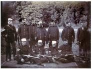 Glamorgan Yeomanry, Cowbridge ca 1900