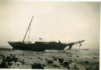 Wreck off Colhugh, Llantwit Major 1938