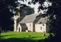 Llanfrynach church, near Cowbridge 2001