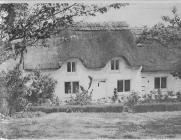 Glebe Cottage, Flemingston, nr Cowbridge 1980s