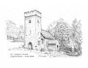Llantrithyd church, near Bonvilston 2005