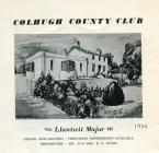 Colhugh County Club, Llantwit Major 1961