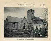 St Illtyd's church, Llantwit Major 1973