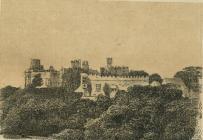 St Donats castle, nr Cowbridge - engraving