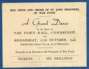 Red Cross dance for POW fund, Cowbridge 1944