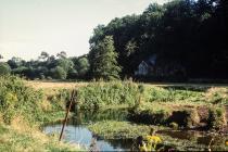 River Thaw below Llandough, nr Cowbridge 1989