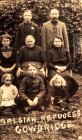 Belgian refugees, Cowbridge, WW1