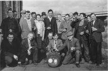 British Legion group, Cowbridge 1951