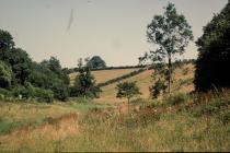 Fields in Llanbethery, near Llancarfan