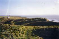 Nash Point lighthouse, nr Llantwit Major 2000