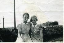 June & Margaret Williams, Llanblethian...