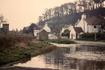 The ford, Llancarfan, nr Barry 1970s