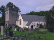 St Cadoc's church, Llancarfan, nr Barry