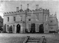 Penllyn castle, near Cowbridge 1950s