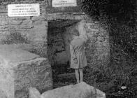 Salmon well, Penllyn, nr Cowbridge 1950s