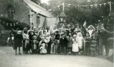 Carnival group, Penllyn, nr Cowbridge
