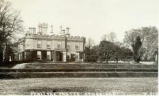 Penllyn castle, near Cowbridge ca 1910