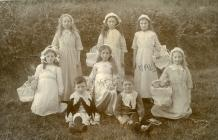 Penllyn, near Cowbridge - carnival group 1911