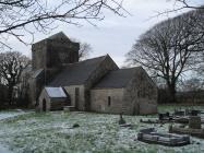 Llanfrynach church, near Cowbridge 2009