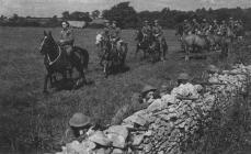 Cowbridge mounted Home Guard WW2