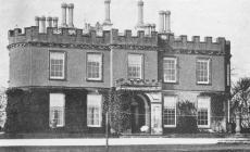 Penllyn castle, near Cowbridge ca 1900