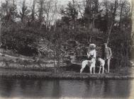 Llandough Castle, near Cowbridge ca 1900