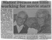 Walter and Bertha Maddey of Cowbridge 1998