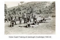 Home Guard at Llandough, nr Cowbridge, WW2