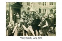 Victory Parade, Cowbridge, June 1946