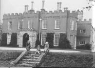 Penllyn castle, near Cowbridge 1970s