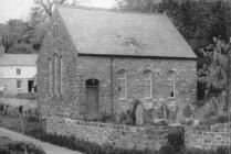 Penllyn chapel, near Cowbridge 1970s