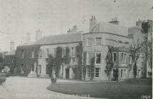 Llandough Castle, near Cowbridge, early 1900s