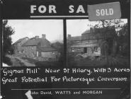 Gigman Mill, St Mary Church, nr Cowbridge