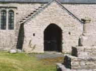 Llanfrynach church, near Cowbridge 2003