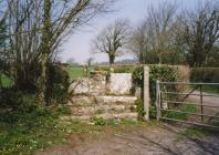 Llanfrynach church, near Cowbridge 2002