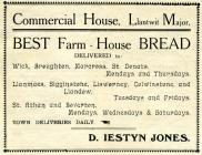 Commercial House, Llantwit Major 1918