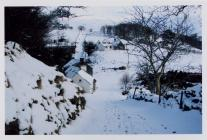 Penffynnon in the snow, 2009